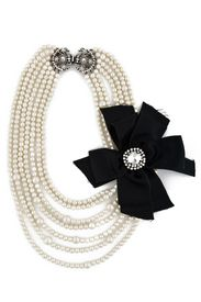 .so like black velvet...black satin!!!...add the pearls, too!!!