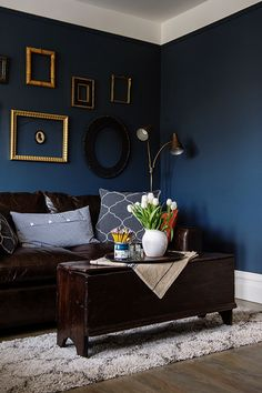 A Revolution For The Home : Rooms Made for You | Blue walls, Soft ...