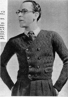 the 1930s- 1937 knitwear.