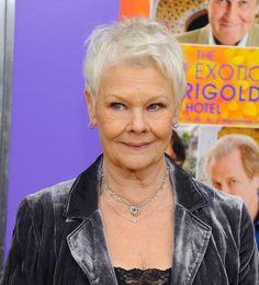 Judi Dench, wat is dit toch een mooi mens... Foto uit 2012. Fantastisch actrice, dat was ze, is ze en blijft ze!