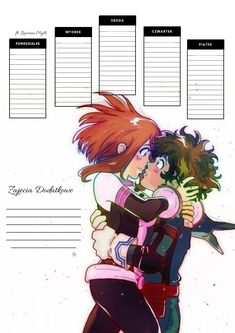 Schedule Templates, Diy Calendar, Boku No Hero Academia, Anime, Journal, How To Plan, Letters, Calendar Templates, Homemade Calendar