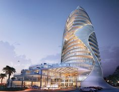 Image result for curved towers