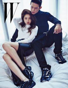 Hwang Seung Eon and Beenzino - W Korea Magazine September Issue Couple Posing, Couple Shoot, Korean Couple Photoshoot, Couples Modeling, Yoo Ah In, Fashion Poses, Photoshoot Fashion, Stylish Couple, Ulzzang Couple