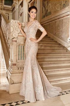Balletts Bridal - 22542 - Wedding Gown by Demetrios - Demetrios WG 1488 semi…