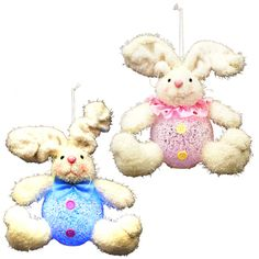 2 Piece LED Lighted Bunnies Set