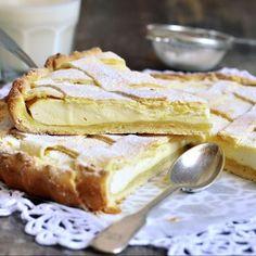 Crostata o tarta de ricotta