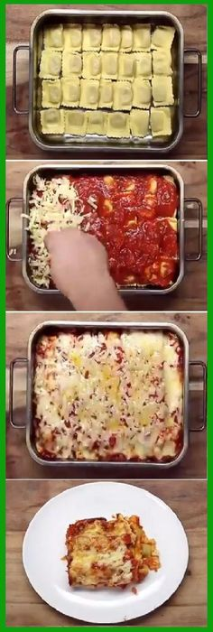 Wow! Haz una deliciosa lasaña en minutos con esta genial idea. #lasaña #lasagna #ideas #tips #pain #bread #breadrecipes #パン #хлеб #brot #pane #crema #relleno #losmejores #cremas #rellenos #cakes #pan #panfrances #panettone #panes #pantone #pan #recetas #recipe #casero #torta #tartas #pastel #nestlecocina #bizcocho #bizcochuelo #tasty #cocina #chocolate Si te gusta dinos HOLA y dale a Me Gusta MIREN