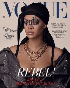 As Rihanna stars on the cover of the May 2020 issue of British Vogue, she is the first cover star to wear a durag. Funmi Fetto explains what a durag is and what it means for Rihanna to wear a durag on the cover of Vogue. Vogue Uk, Vogue Fashion, Vogue India, Vogue Paris, 90s Fashion, Daily Fashion, Paris Fashion, Street Fashion, High Fashion