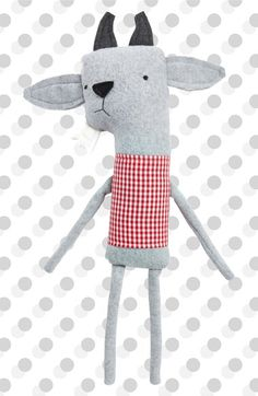 Finkelstein's Center Handmade Soft Stuffed Goat Toy available at #Nordstrom