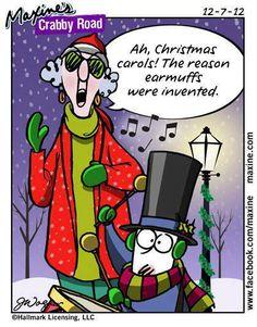 #christmas #carols #earmuffs