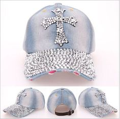 338f44bd85d Cowgirl Super Blinged Out Ball Caps
