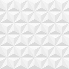 Papel de parede coleção geometria triângulos 3D cinza - PA7808