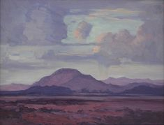 Rain in the Karoo - JH Pierneef African Paintings, Rain Art, South African Artists, Landscape Paintings, Landscapes, African History, Faeries, Art Projects, Wildlife