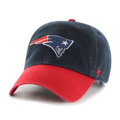 cheap for discount c1cfb 98303 New England Patriots Clean Up Two-Tone Navy 47 Brand Adjustable Hat