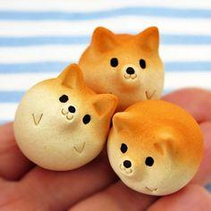 (1) シバ玉ミニ 1点チョイス! 小さな柴犬置物 new