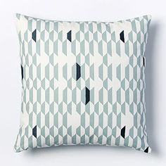 Kate Spade Saturday Shifting Shapes Pillow Cover - Light Pool #westelm