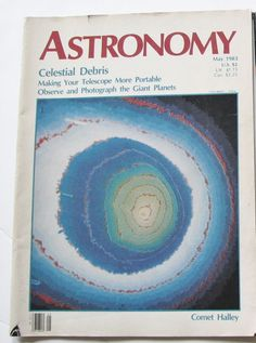 Astronomy Magazine May 1983 Stars Planets Vintage Comet Halley