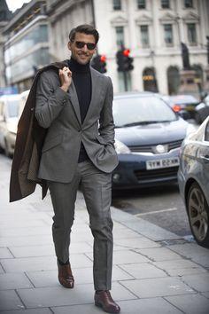 ideas for fashion classy elegant men Stylish Mens Fashion, Mens Fashion Suits, Fashion Outfits, Outfits Hombre, Herren Outfit, Elegant Man, Men's Suits, Business Casual Outfits, Menswear