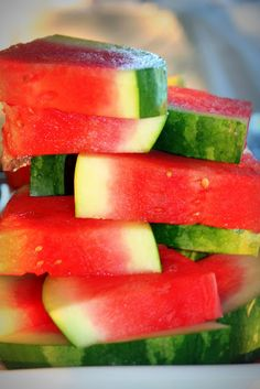 Eat copious amounts of watermelon! the entertaining house: Wishing you the sunniest of Sundays wherever you are!