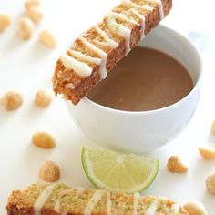 Low Carb Grain-Free Macadamia Nut Biscotti