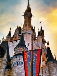 Cinderella Castle @ Walt Disney World