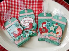 sei lifestyle: Holiday Gift Tags by Audrey Petit