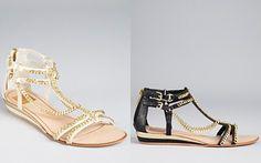 Dolce Vita Sandals - Idra Chain Flat