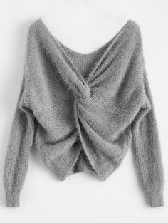 Fluffy Twisted Chenille Sweater Join Zaful: Get YOUR $50 NOW!