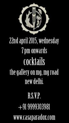 A gentle reminder to all patrons, come witness the magic of nostalgic living as we unveil Casa Ivorie tonight at The Gallery on MG Mehrauli-Gurgaon Road Time :- 7:00 pm Onward. Cheers! #pret #nostalgia #casa #paradox #raseel #gujral #celebrating #india #summer