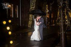 True love on Addison Street. #kimberlykundaphotography #kkpweddings #kkp #philadelphiaweddings #philadelphiaweddingphotography #weddingphotosintherain #winterwedding #decemberwedding