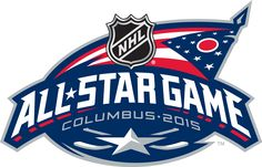 NHL All-Star Game Primary Logo (2015) - 2015 NHL All-Star Game Logo - Game played in Columbus, Ohio hosted by Columbus Blue Jackets on January 25, 2015