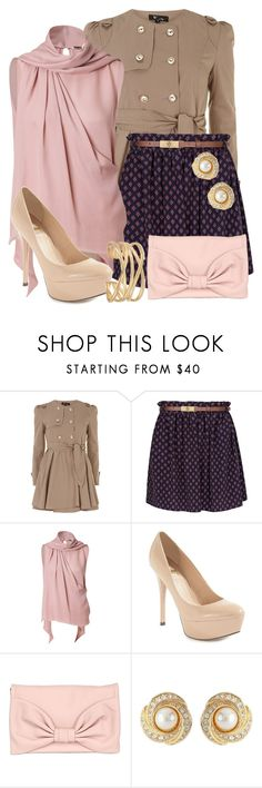 """""""Untitled #555"""" by totallytrue ❤ liked on Polyvore featuring Cutie, MANGO, Emilio Pucci, GUESS by Marciano, RED Valentino, Susan Caplan Vintage and Stella & Dot"""