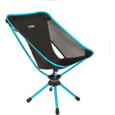#Helinox swivel unisex adventure gear #camping chair - #black blue one size,  View more on the LINK: 	http://www.zeppy.io/product/gb/2/322402712050/