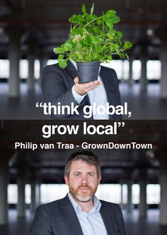 Philip van Traa - Owner GrownDownTown www.growndowntown.coop