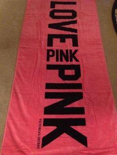 VICTORIA SECRET PINK Beach Towel!