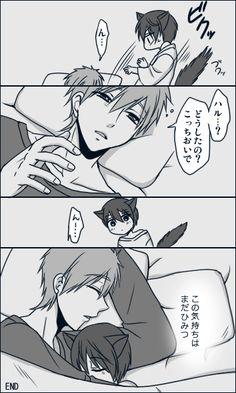 Makoto and Haru // Free!