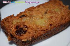Μάχη στην κουζίνα: Κέικ με Μήλο, Μέλι και Κουάκερ Banana Bread, Food And Drink, Healthy Recipes, Snacks, Desserts, Cakes, Apples, Drinks, Life