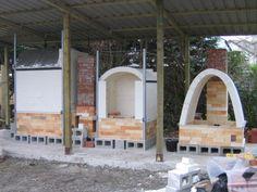 group of joe finch kilns