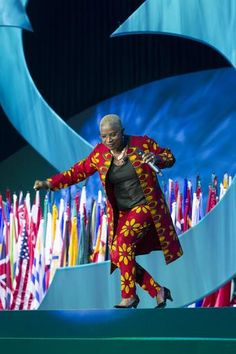 Angelique Kidjo, UNICEF Goodwill Ambassador and Founder of Batonga Foundation