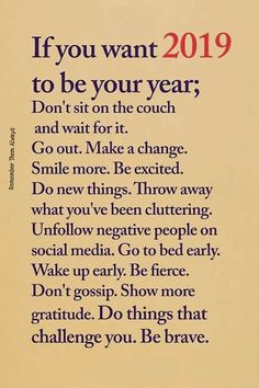 23 Ideas Quotes Positive New Year Motivation For 2019 Positive Thoughts, Positive Vibes, Positive Quotes, Motivational Quotes, Positive Attitude, Motivation Positive, Nice Thoughts, Positive Changes, The Words