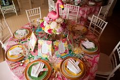 Shorely Chic: Flamingle Party for friends!