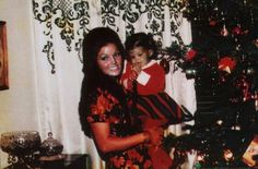 PHOTOSHOPPED: Priscilla and Lisa - Christmas 1969 - ANOTHER PHOTO OF PRISCILLA HEAD HAS BEEN ADDED.