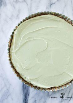 Raw Key Lime Pie.  Vegan.  Gluten Free.
