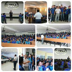 Visita del Instituto Unión y Esfuerzo en #UTH #SanPedroSula #Honduras