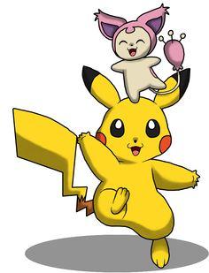 #Skitty #Pikachu