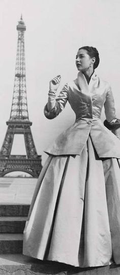 Christian Dior, Paris 1950s.