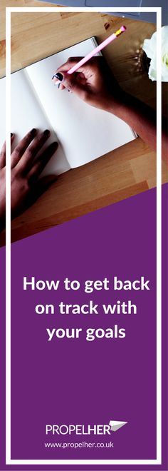 Fallen off track with your goals or New Year's Resolutions? Has all the optimism and fresh energy disappeared? Find out how to re-motivate yourself and get back on track for achieving your goals. Goals // Achieving // Success //