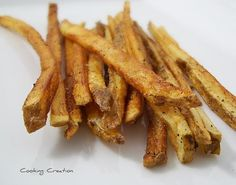 Cooking Creation: Deep-Fried Seasoned French Fries. Easy!