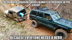 I really miss my Cherokee, but I do love my Liberty too 😊 Jeep Zj, Jeep Xj Mods, Jeep Cars, Jeep Truck, Jeep Jokes, Jeep Humor, Truck Memes, Funny Car Memes, Jeep Grand Cherokee