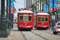 "Canal Street is New Orleans' ""Main Street,"" named for a canal that was never built. Canal Street is the traditional starting point for any tour of New Orleans. Hop on the red streetcar and begin your journey down Canal!"
